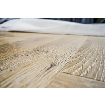 Charme Parquet 17 Olej szczotkowanie Drewno egzotyczne Doussie 138 mm /16mm Natur 4 fazy - 727875_O1